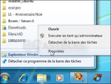 Pc astuces pointer l 39 icne explorateur vers un autre for Fenetre explorateur windows 7