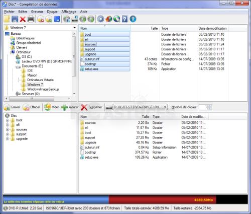 Créer Une Image Disque Iso à Partir De Fichiers Windows