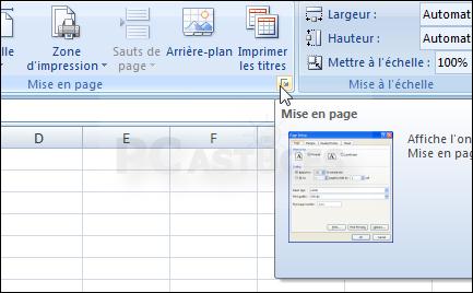 Imposer Un Nombre De Pages A L Impression Excel