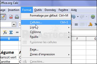Afficher Du Texte Sur Deux Lignes Openoffice Calc