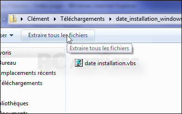 how to find the date of windows installation