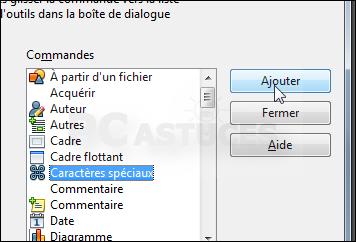 Ins rer rapidement des caract res sp ciaux openoffice writer - Table des caracteres windows ...
