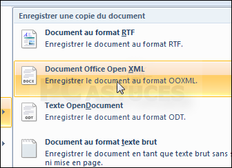 Convertir un document odt en doc word - Ouvrir un document word avec open office ...