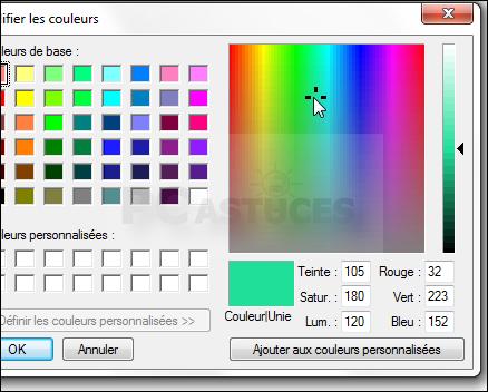 Trouver Le Code Rvb Dune Couleur Windows Toutes Versions