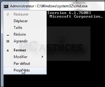 Agrandir La Fenetre D Invite De Commandes Windows Toutes Versions