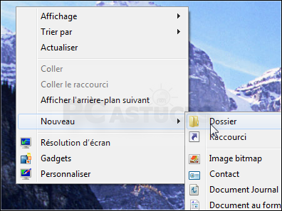 Attacher la corbeille à la barre des tâches windows 7