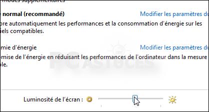 Ajuster La Luminosite De L Ecran Windows 7