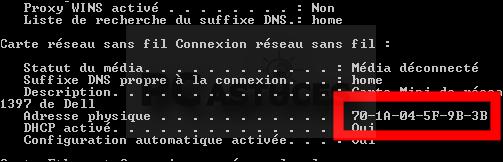 Trouver L Adresse Mac D Un Ordinateur Windows 7