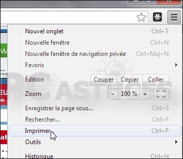 Enregistrer Une Page Web En Pdf Google Chrome
