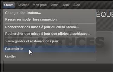 Lancer Steam en mode Big Picture - Windows toutes versions
