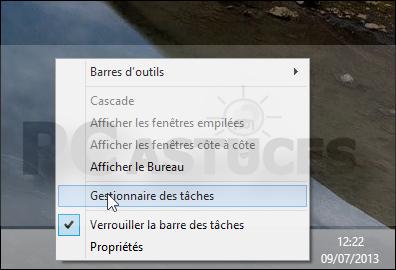 Nettoyer la liste des logiciels exécutés au démarrage windows 8