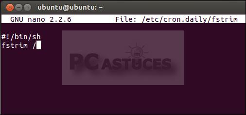 pc astuces am liorer les performances de son ssd dans le temps linux ubuntu. Black Bedroom Furniture Sets. Home Design Ideas