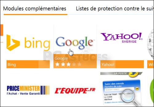 Modifier le moteur de recherche par d faut internet for Meilleur moteur de recherche pour hotel