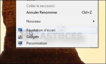 Etendre le bureau sur un deuxième écran windows 7