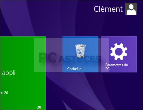 Ajouter un raccourci vers les paramètres du pc windows