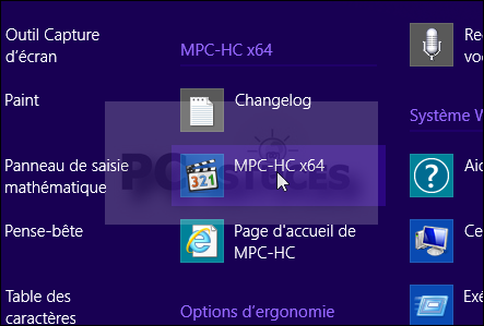 Ajouter des raccourcis sur le bureau windows 8 1 for Raccourci clavier agrandir fenetre windows 7