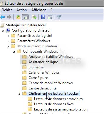 chiffrement de lecteur bitlocker windows 7