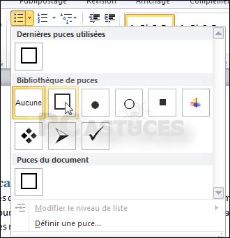 Ajouter facilement des cases cocher un document word - Comment faire le petit 2 de metre carre ...