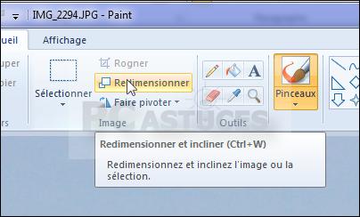 Redimensionner Rapidement Une Image Windows Toutes Versions