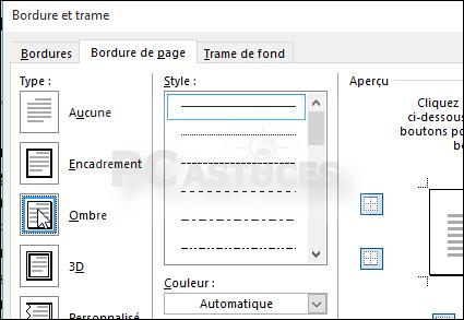 Pc Astuces Ajouter Une Bordure à Une Page Word