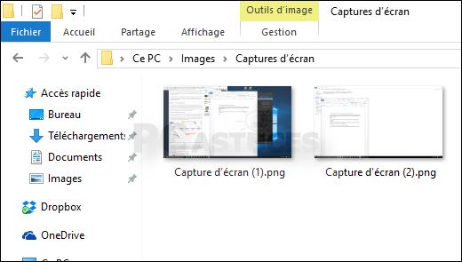 Faire Rapidement Une Capture D Ecran Windows 10