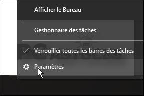Afficher la barre des tâches sur tous les écrans windows 10