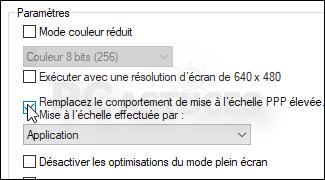 Ameliorer La Mise A L Echelle Pour Les Logiciels Windows 10