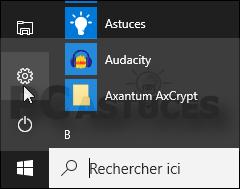 localiser un pc portable windows xp
