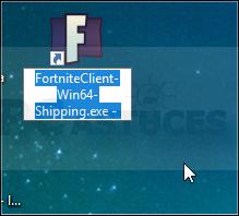 Créer un raccourci direct vers Fortnite - Windows toutes versions