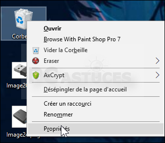 Changer La Taille Maximale De La Corbeille Windows 10