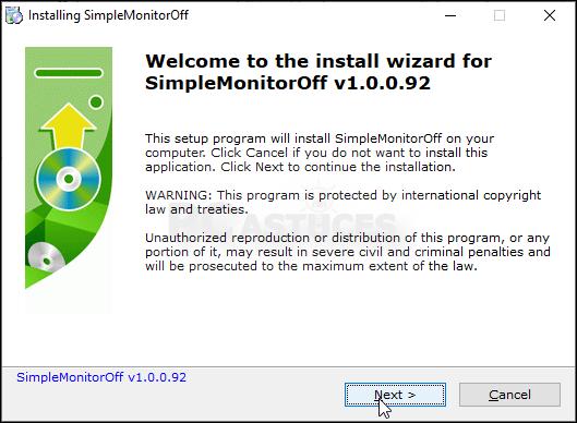 Eteindre son écran au verrouillage - Windows 10 5588-5