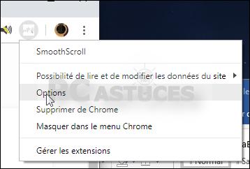 Améliorer le défilement des pages Web - Chrome 5596-4