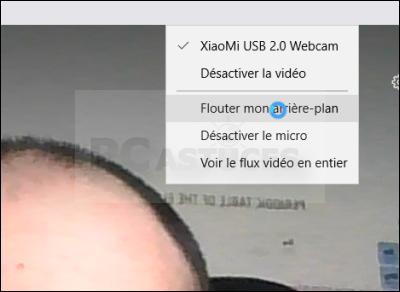 Flouter l'arrière plan dans les appels vidéos - Skype 5601-1