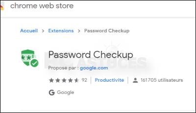 Détecter les noms d'utilisateur et les mots de passe non sécurisés - Chrome 5602-1
