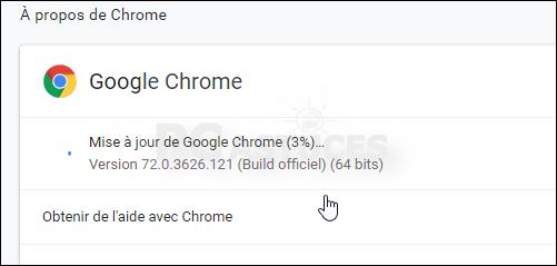 Mettre à jour son navigateur - Google Chrome 5627-3
