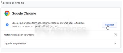 Mettre à jour son navigateur - Google Chrome 5627-4