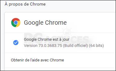 Mettre à jour son navigateur - Google Chrome 5627-5