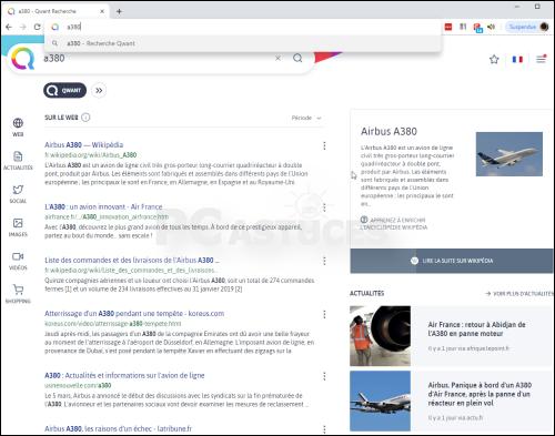Changer le moteur de recherche pour Qwant - Chrome 5633-4