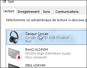 activer le mode spatial avec un casque audio windows 10