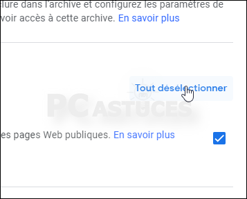 Télécharger toutes les données de son compte Google Drive d'un coup - Tous les navigateurs Web 5639-2