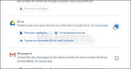 Télécharger toutes les données de son compte Google Drive d'un coup - Tous les navigateurs Web 5639-3