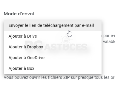 Télécharger toutes les données de son compte Google Drive d'un coup - Tous les navigateurs Web 5639-7