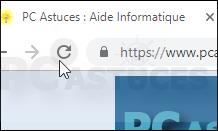 Les touches de fonctions dans Chrome - Chrome 5666-3