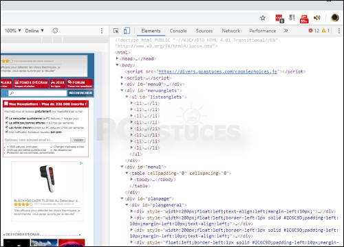 Les touches de fonctions dans Chrome - Chrome 5666-6
