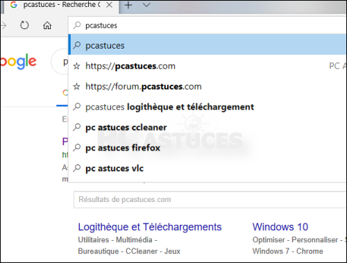 Utiliser Google Pour La Recherche Microsoft Edge
