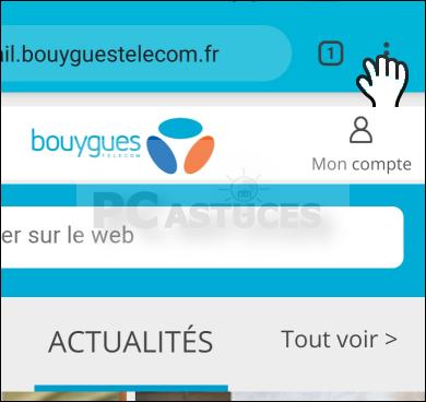 Utiliser la navigation privée dans Google Chrome - Android 6151-2