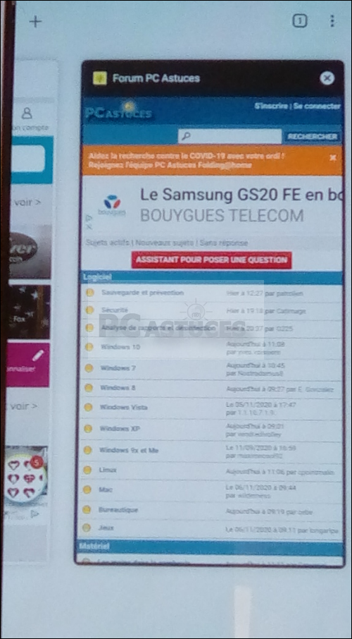 Utiliser la navigation privée dans Google Chrome - Android 6151-6