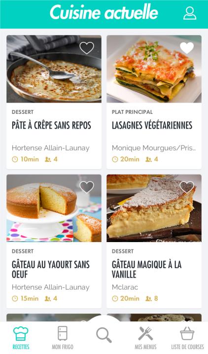 Cuisine actuelle pc astuces for Cuisine actuelle