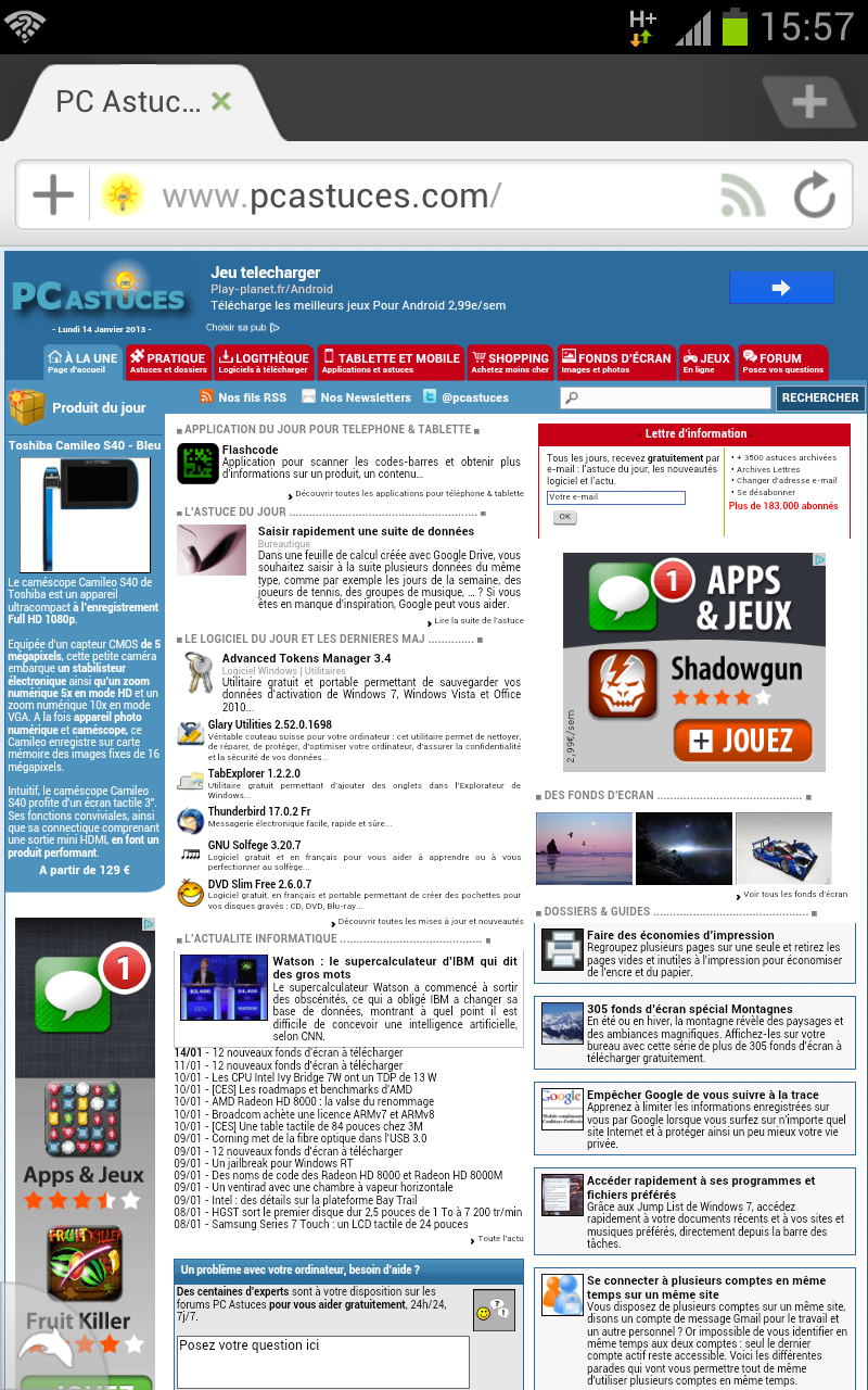 Dolphin Browser - PC Astuces