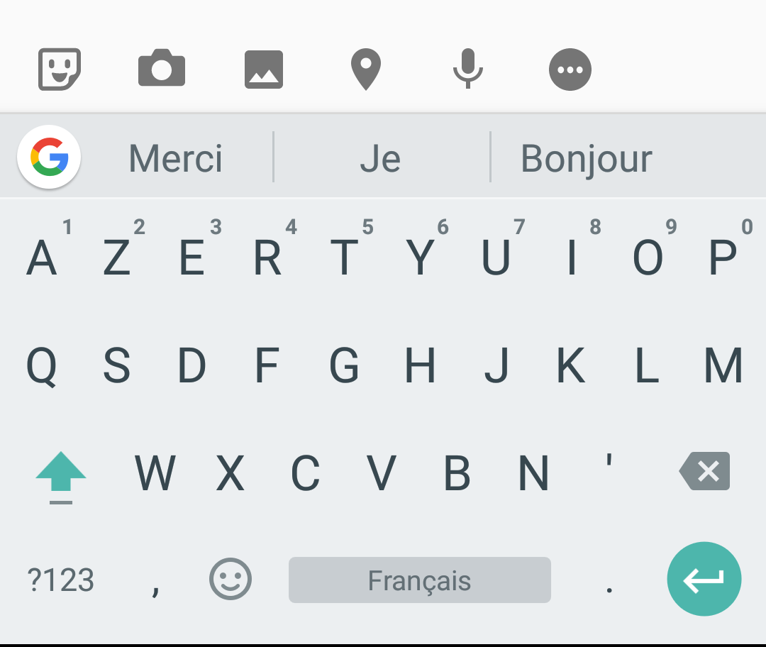 gboard le clavier google